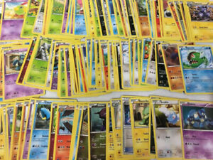 Lot de 100 cartes Pokémon