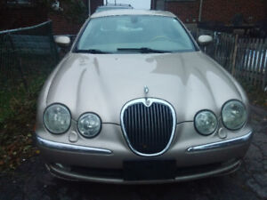 2002 Jaguar S-TYPE in great condition! $3800
