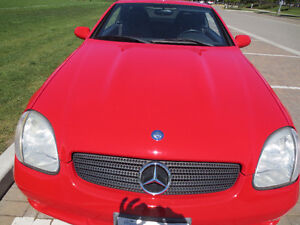 2000 Mercedes-Benz SLK-Class AMG wheel's  Convertible