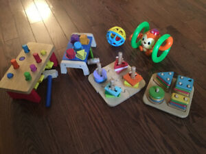 Educational Children's Toys - mostly wooden