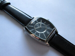 MEIR & CO. McDonald's logo men's watch, geart blackk dial!