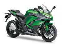 2018 KAWASAKI Z1000SX. WILL QUALIFY FOR PCP 750 DEPOSIT CONTRIBUTION.