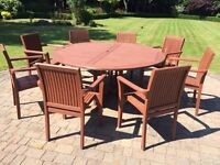 Garden Table & Chairs (8seater)