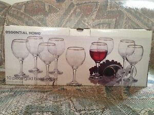 10 wine glasses Cambridge Kitchener Area image 1