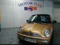 2003 MINI HATCH COOPER HATCHBACK PETROL