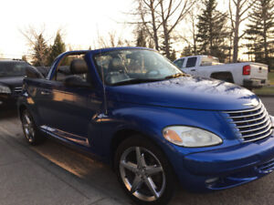 2005 Chrysler PT Cruiser GT Convertible with 2 sets of tires,