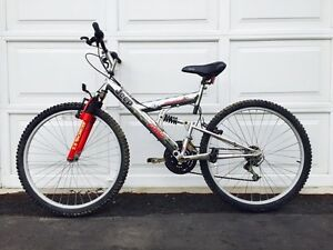 "26"" JEEP 18 Speed full suspension mountain bike"