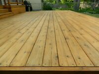 Deck and Fence Staining! End of Summer Special!