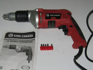 King Canada Drywall Screwgun