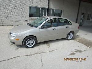 2007 Ford Focus LOW KMS! GEAT STARTER CAR