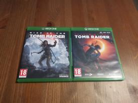 Tomb Raider Xbox One Games Bundle