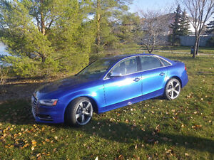 2015 Audi S4 Technik Sedan- as new- original owner...LOW KM's