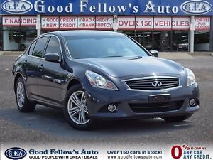 2013 Infiniti G37X  AWD, LEATHER, SUNROOF, NAV, CAMERA