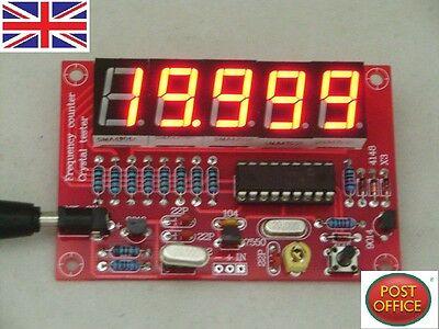 DIY Kits 1Hz-50MHz Crystal Oscillator Frequency Counter Meter Digital LED