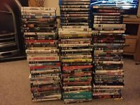 Large collection of DVDs and blue ray films 118 total