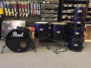 Pearl Master Studioshellkit 8-10-12-13-14-16-20 Purple fade - used/usagée