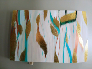 Large Abstract Acrylic Painting Modern Art
