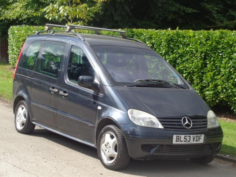 2004 Mercedes-Benz Vaneo 1.6 S AUTOMATIC ACS Family***LONG MOT + 7 SEATER***