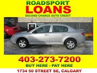 2007 CHEV COBALT AUTO $29 DN TO QUALIFY BAD CRED OK APPLY NOW