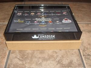 MOLSON CANADIAN STANLEY CUP RING DISPLAY CASE with rings Cambridge Kitchener Area image 1