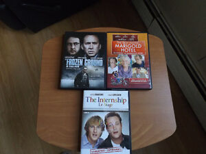MOVIES - 3 DVDs & 1 VHS