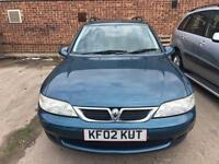Vauxhall Vectra 1.8i 16v Club ESTATE - 2002 02-REG - 5 MONTHS MOT