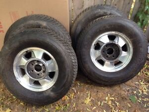 Winter tires for Chevy truck