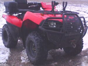 2008 atv trade for 4 door 4x4