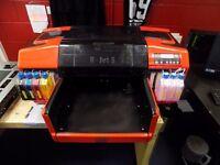 Quick Sale Resolute DTG R-Jet 5 Textile Printer Garments £3499