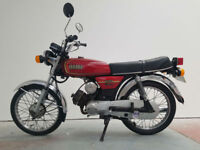 1988 Yamaha YB100 4 Former Keepers 24,960 Miles Classic Motorcycle