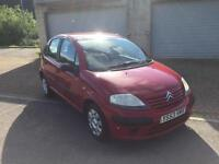 53 reg Citroen C3 1.1i L 5 Door Burgundy Red