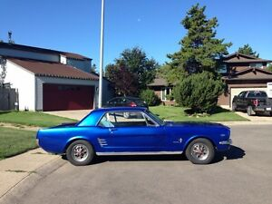 1966 Ford Mustang Two Door Coupe