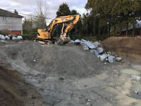 REPUTED EXCAVATOR, EXCAVATION SERVICE YOU CAN COUNT ON!