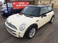 2005 MINI COOPER 1.6, FULL SERVICE HISTORY, 1 YEAR MOT, WARRANTY, NOT CORSA FIESTA POLO PUNTO MICRA