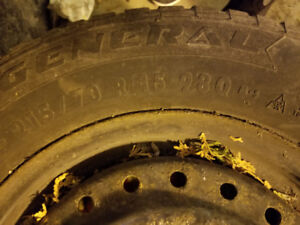 Winter Tires with Rims - Size 215/70 R 15 (Set of 4)