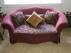 2 Piece Sofa and Loveseat