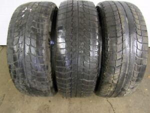 3-235/60R16 M+S MICHELIN X-ICE WINTER TIRES CAN SELL JUST 2