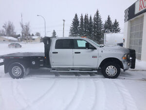 2010 Dodge 3500 with CBI hydra deck bale deck
