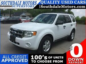 2011 FORD ESCAPE XLT * 1 OWNER * PREMIUM CLOTH SEATING * POWER G