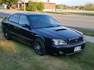 2002 Japan Import Legacy B4 RSK Twin Turbo Only 65,00KM!