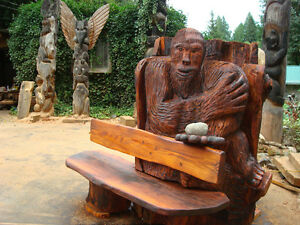 bigfoot bench