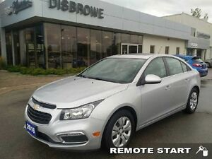 2016 Chevrolet Cruze Limited LT   Remote Start, Backup Cam, Sunr