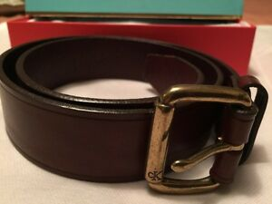 Calvin Klein brown belt