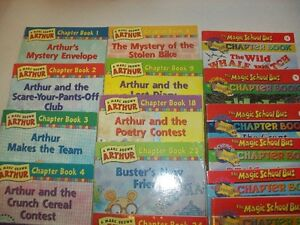 12 Arthur Chapter Books and 8 Magic School Bus Chapter Books St. John's Newfoundland image 2