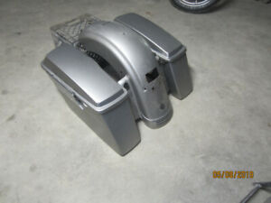 harley rear fender with tail section 200.00