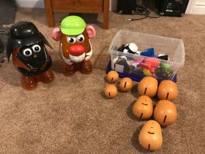 Mr Potato Head & Darth Potato