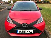 TOYOTA AYGO 1.0 VVT-I X (2015 15 REG) NEW SHAPE FACELIFT + HPI CLEAR