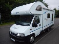 Ace Napoli 2006 4 Berth Rear L - Shaped Lounge Motorhome For Sale