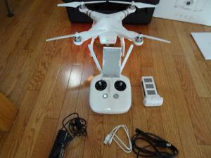DJI Phantom 3 Standard drone+Extras+Pelican case, Like new