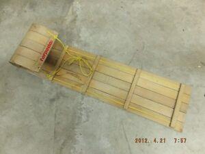 Classic Wood Tobogan